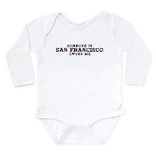 Unique San francisco city Long Sleeve Infant Bodysuit