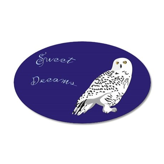 Sweet Dreams Owl Wall Decal