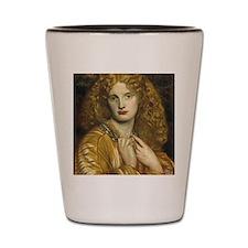 Helen of Troy by Rossetti Shot Glass