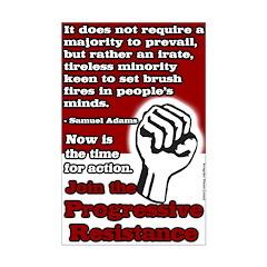 11x17 inch Progressive Action Poster