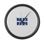 Martinique.jpg Large Wall Clock