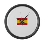 Spain.jpg Large Wall Clock