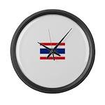 Thailand.jpg Large Wall Clock