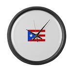 Puerto Rico.jpg Large Wall Clock