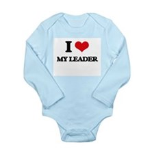 I Love My Leader Body Suit