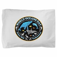 World Oceans Day Pillow Sham