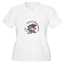 FUTURE VETERINARIAN Plus Size T-Shirt