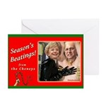 Seasons Beatings From The Cheneys Greeting Cards
