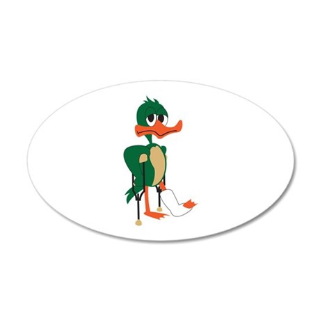 Lame Duck Wall Decal