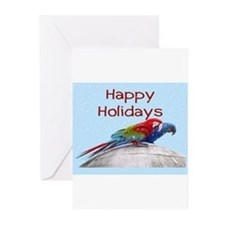 Funny Macaw Greeting Cards (Pk of 20)