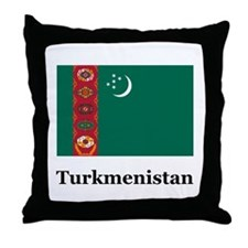 Turkmenistan Turkmen Heritage Throw Pillow