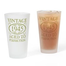 Vintage 1945 Drinking Glass