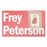 Rectangle Sticker. Frey Peterson.