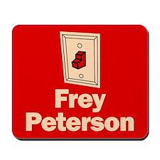 Mousepad. Frey Peterson.