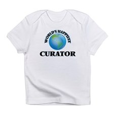 World's Happiest Curator Infant T-Shirt