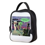 Spaced-Out Vegan Neoprene Lunch Bag