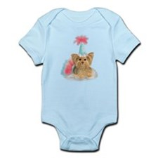 Birthday Yorkie Body Suit