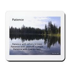 Patience Mousepad
