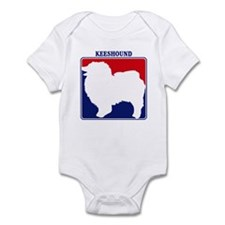 Pro Keeshound Infant Bodysuit