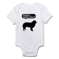 Rescue a Border Collie Infant Bodysuit