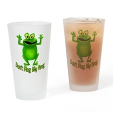 Flog My Frog Drinking Glass