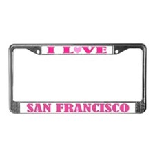 San Francisco License Plate Frame