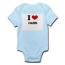 I Love Oasis Body Suit