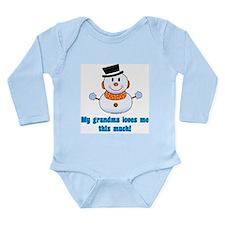 Cute Snow Long Sleeve Infant Bodysuit