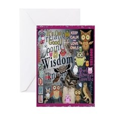 Owl Card Greeting Cards