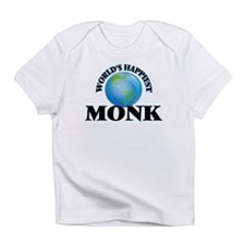 World's Happiest Monk Infant T-Shirt