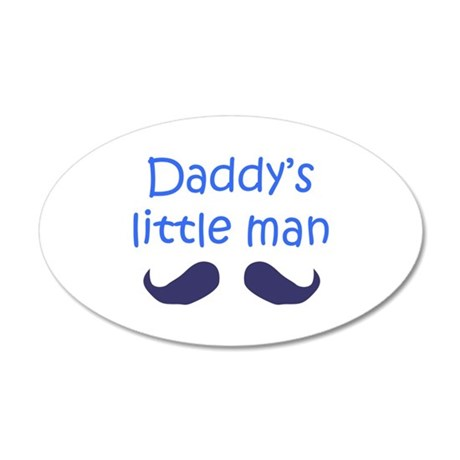 DADDYS LITTLE MAN Wall Decal