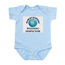 World's Happiest Welding Inspector Body Suit