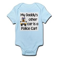 Cute Police family Infant Bodysuit
