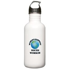 World's Happiest Youth Water Bottle