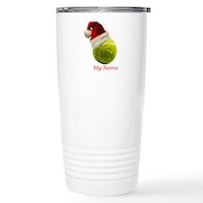Tennis Santa Travel Mug