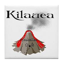 Kilauea Tile Coaster