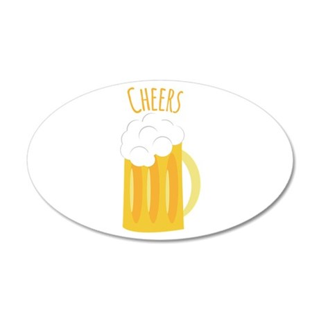 Cheers Up Wall Decal