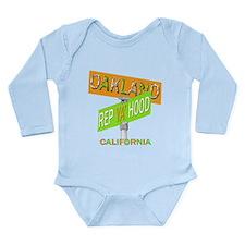 Cute I love california Long Sleeve Infant Bodysuit
