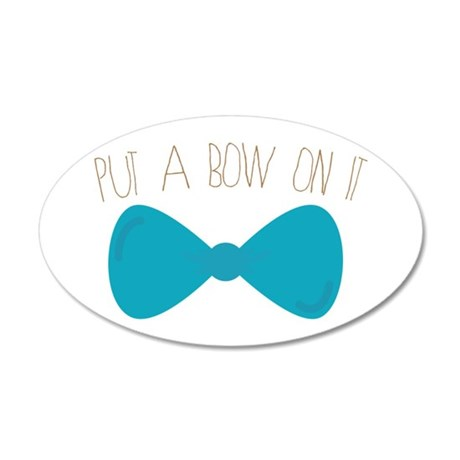 Bow On It Wall Decal