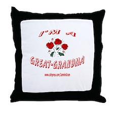 GREAT GRANDMA 1 Throw Pillow