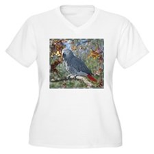 Sunlight on Feathers Plus Size T-Shirt
