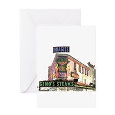 Cheese Steak Greeting Cards