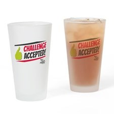 Challenge Excepted Drinking Glass