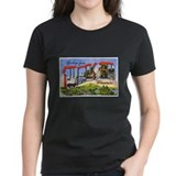 Wausau Wisconsin Greetings (Front) Tee