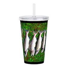 good day fishin Acrylic Double-wall Tumbler
