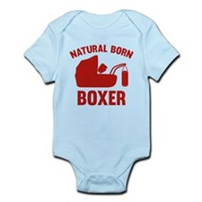 Natural Born Boxer Infant Bodysuit