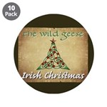 "Wg Irish Christmas 3.5"" Button (10 Pack)"
