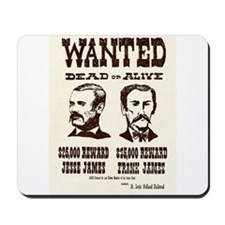 Jesse & Frank James Mousepad