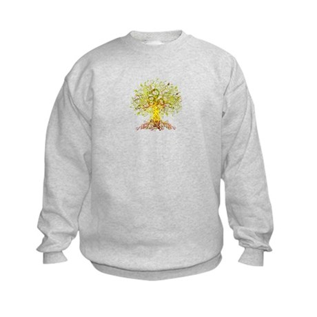 Abstract design 005 Kids Sweatshirt