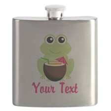 Personalizable Cocktail Frog Flask